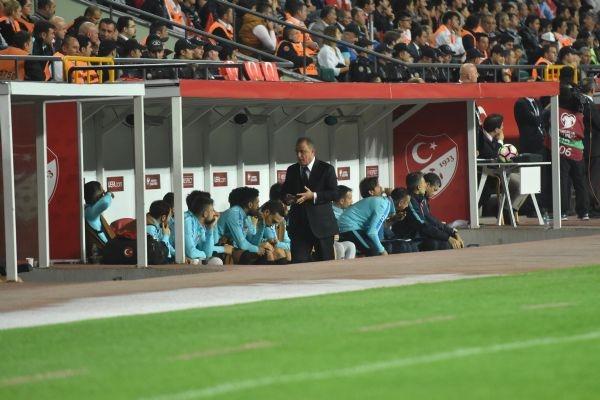 Türkiye - Ukrayna maçından kareler galerisi resim 16