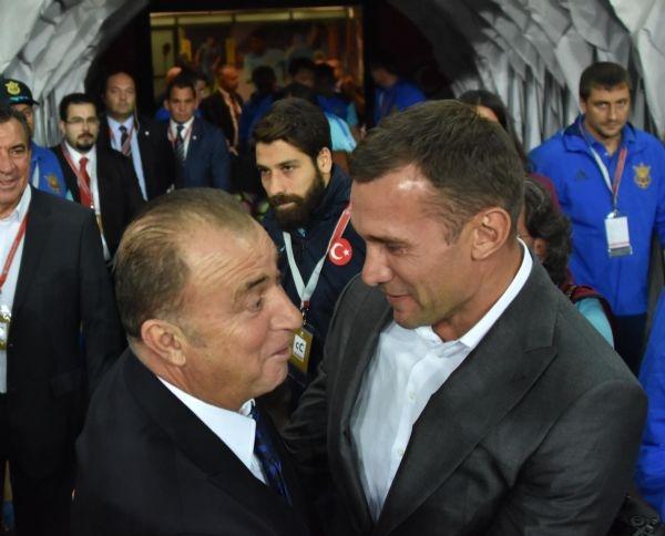 Türkiye - Ukrayna maçından kareler galerisi resim 20