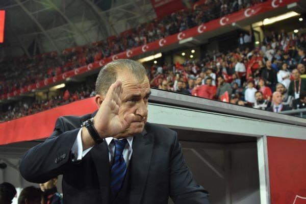 Türkiye - Ukrayna maçından kareler galerisi resim 23