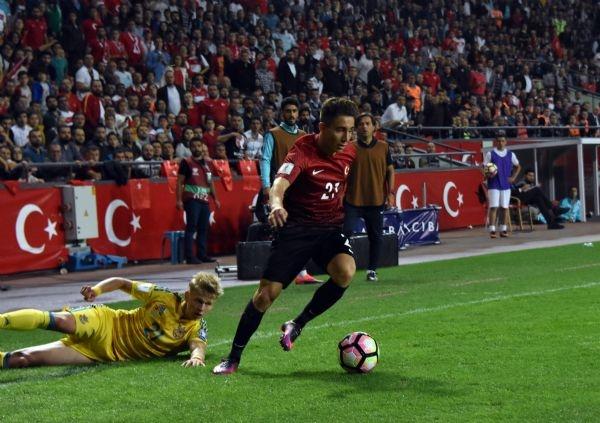 Türkiye - Ukrayna maçından kareler galerisi resim 24