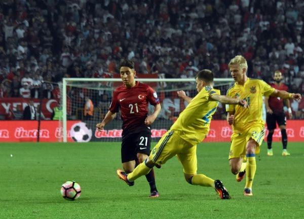 Türkiye - Ukrayna maçından kareler galerisi resim 25