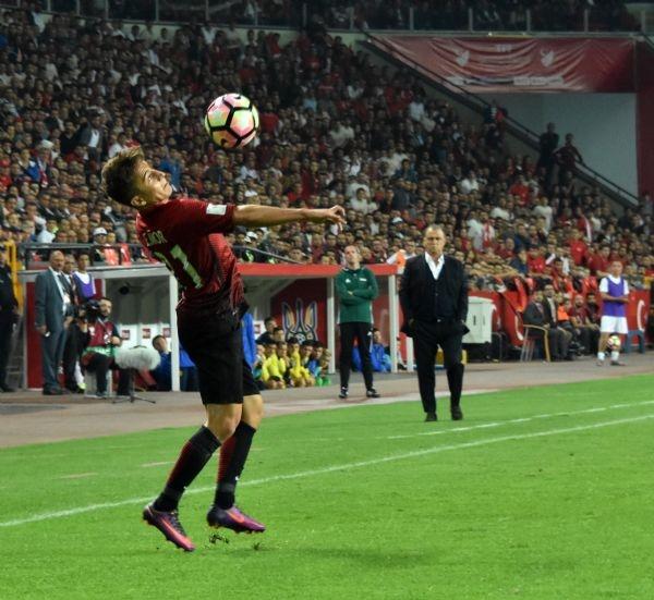 Türkiye - Ukrayna maçından kareler galerisi resim 26