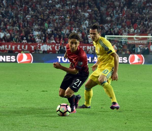 Türkiye - Ukrayna maçından kareler galerisi resim 27