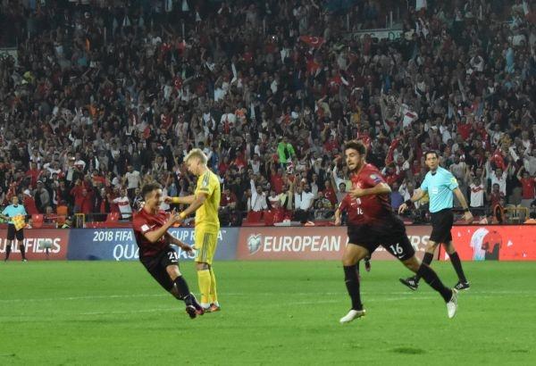 Türkiye - Ukrayna maçından kareler galerisi resim 28