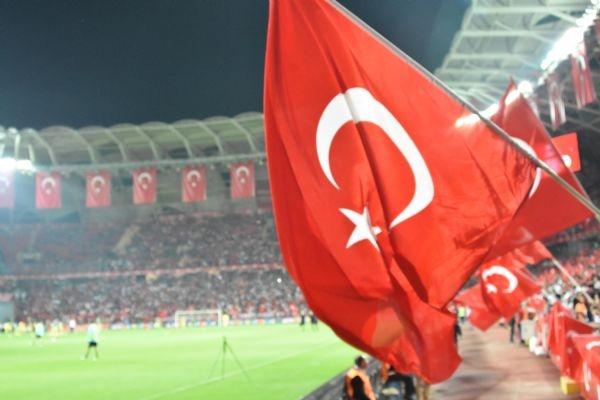 Türkiye - Ukrayna maçından kareler galerisi resim 29