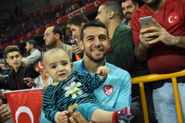 Türkiye - Ukrayna maçından kareler galerisi resim 30