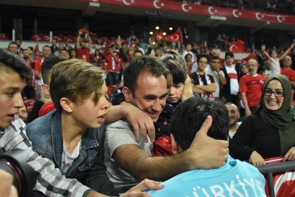 Türkiye - Ukrayna maçından kareler galerisi resim 31