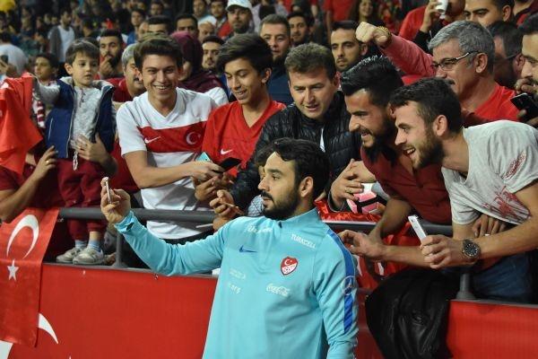 Türkiye - Ukrayna maçından kareler galerisi resim 32