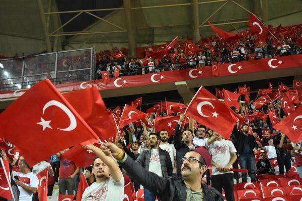 Türkiye - Ukrayna maçından kareler galerisi resim 34