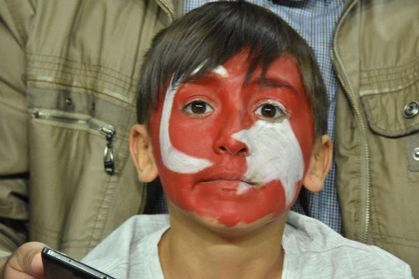 Türkiye - Ukrayna maçından kareler galerisi resim 36