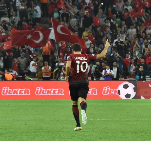 Türkiye - Ukrayna maçından kareler galerisi resim 37