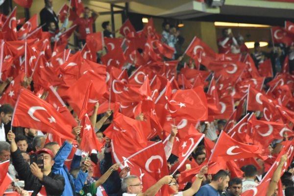 Türkiye - Ukrayna maçından kareler galerisi resim 4