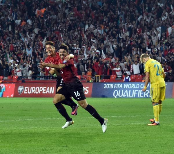 Türkiye - Ukrayna maçından kareler galerisi resim 7