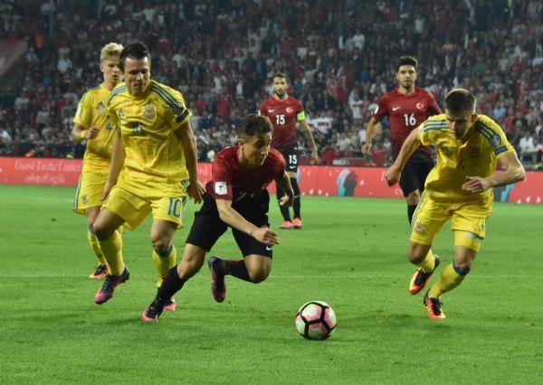Türkiye - Ukrayna maçından kareler galerisi resim 8