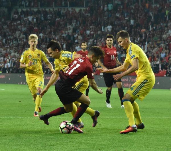 Türkiye - Ukrayna maçından kareler galerisi resim 9