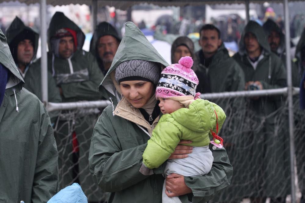 Sığınmacı kampına bahar gelmiyor galerisi resim 1