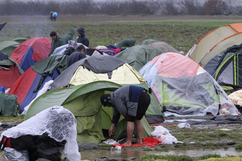 Sığınmacı kampına bahar gelmiyor galerisi resim 4