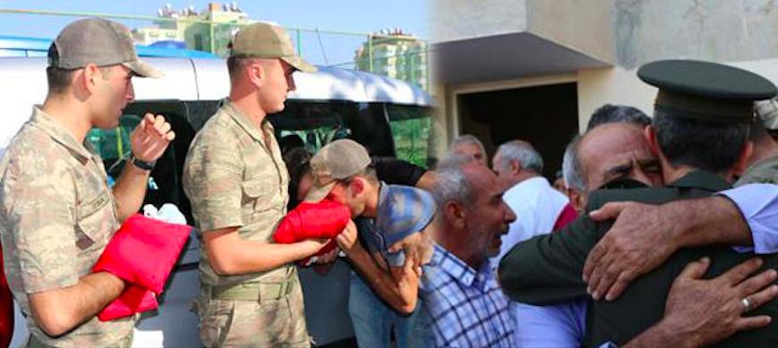 Türkiye şehitlerine ağlıyor galerisi resim 1