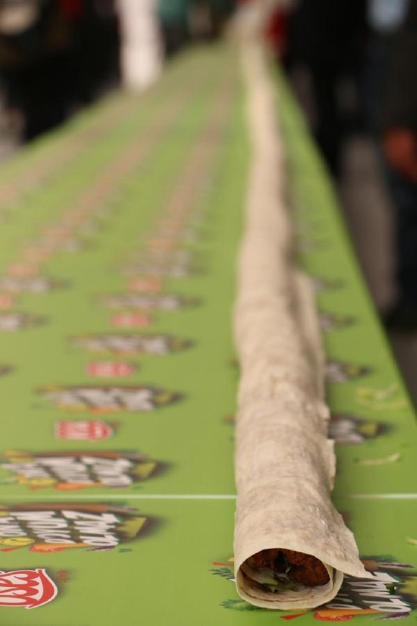 231 metrelik çiğ köfte rekor kırdı galerisi resim 4