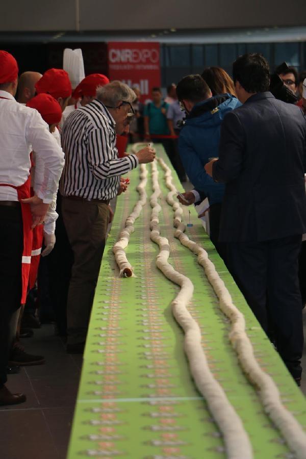 231 metrelik çiğ köfte rekor kırdı galerisi resim 7