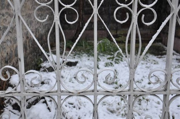 Türkiye güne karla uyandı galerisi resim 11