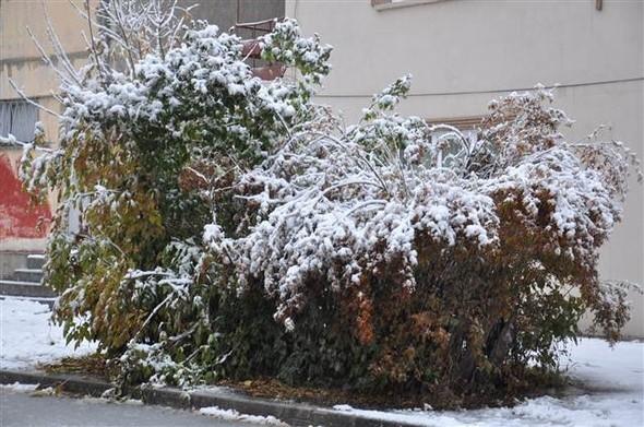 Türkiye güne karla uyandı galerisi resim 12