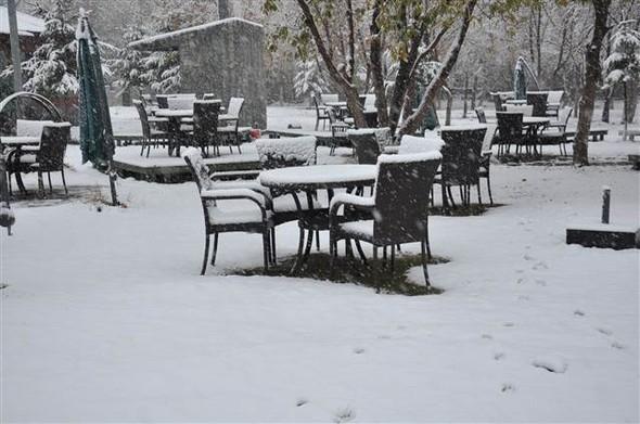 Türkiye güne karla uyandı galerisi resim 14