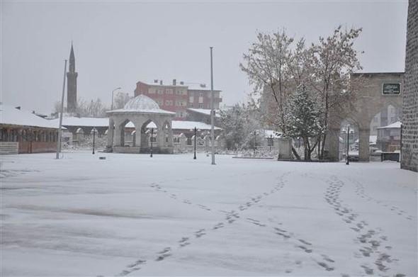 Türkiye güne karla uyandı galerisi resim 7
