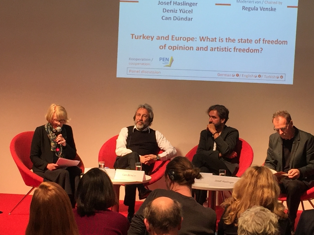 Can Dündar Frankfurt Kitap Fuarı'nda konuştu galerisi resim 4