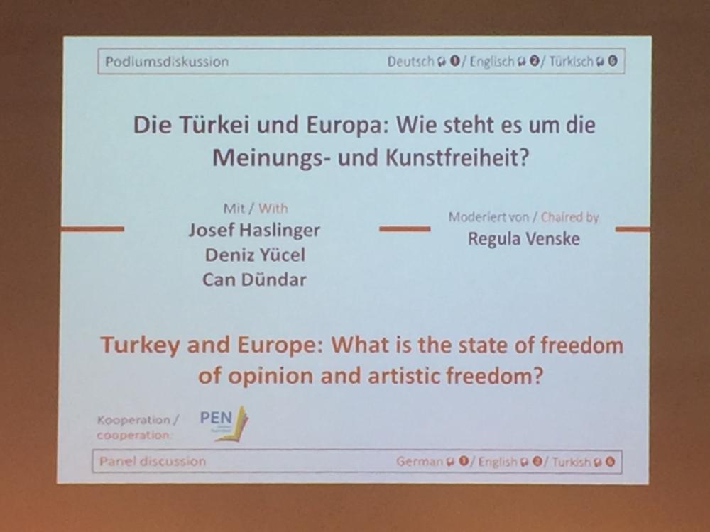 Can Dündar Frankfurt Kitap Fuarı'nda konuştu galerisi resim 6