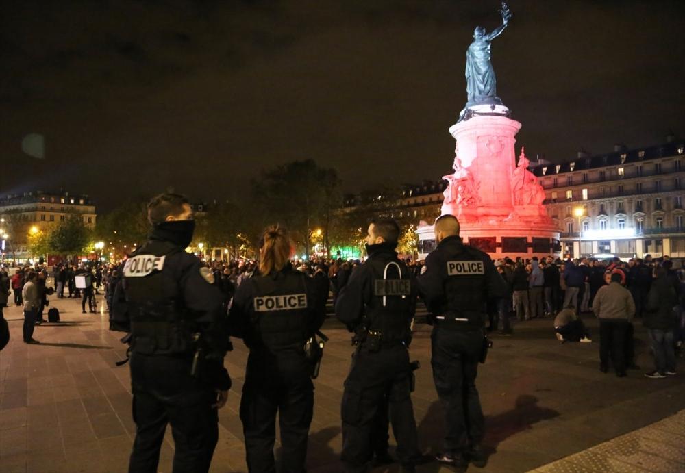 Fransa'da polisler direnişte galerisi resim 3