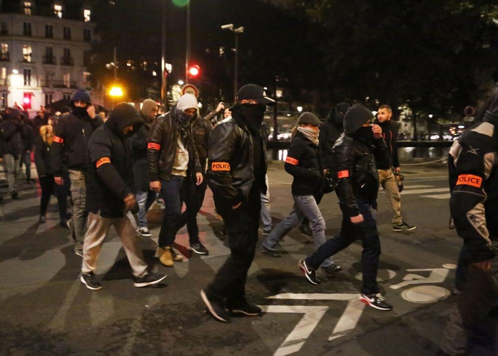 Fransa'da polisler direnişte galerisi resim 5