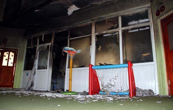 Van'da anaokuluna terör saldırısı galerisi resim 3