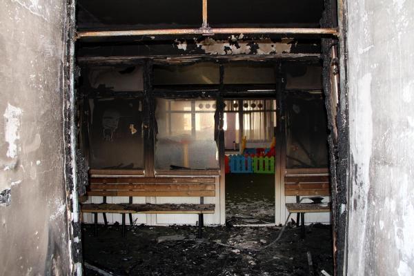 Van'da anaokuluna terör saldırısı galerisi resim 5