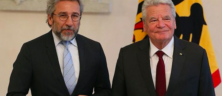 Can Dündar Alman Cumhurbaşkanı ile görüştü galerisi resim 1