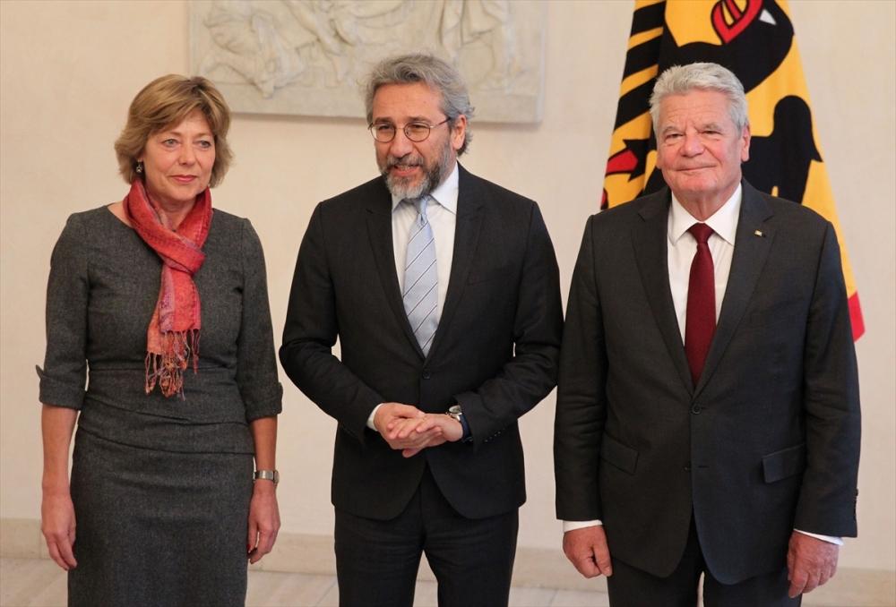 Can Dündar Alman Cumhurbaşkanı ile görüştü galerisi resim 2