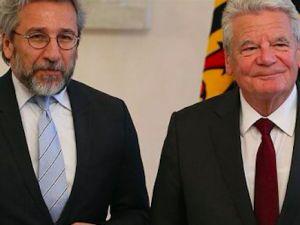 Can Dündar Alman Cumhurbaşkanı ile görüştü