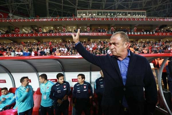 Türkiye-Kosova maçından kareler galerisi resim 17