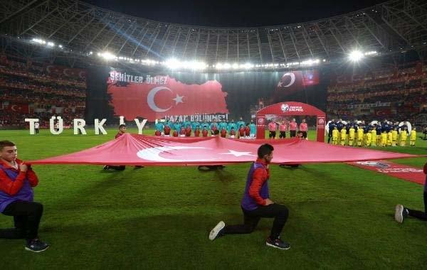 Türkiye-Kosova maçından kareler galerisi resim 22