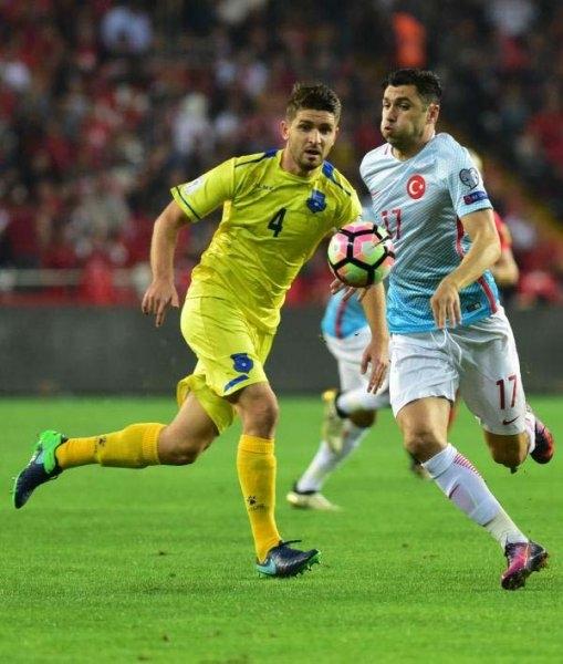 Türkiye-Kosova maçından kareler galerisi resim 27