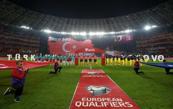Türkiye-Kosova maçından kareler galerisi resim 34