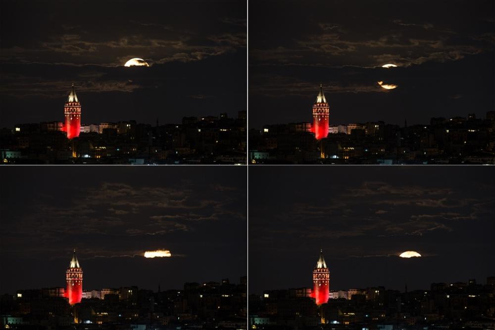 Süper Ay'a saatler kaldı galerisi resim 5