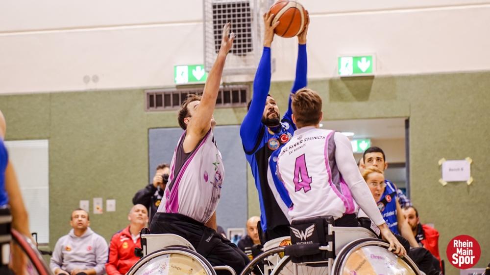 TSK Tekerlekli Sandalye Basketbol Takımı ezdi geçti galerisi resim 1