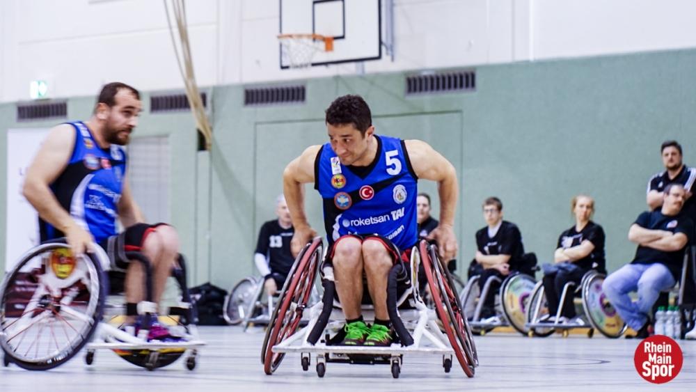 TSK Tekerlekli Sandalye Basketbol Takımı ezdi geçti galerisi resim 2
