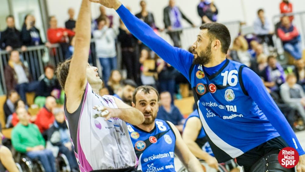 TSK Tekerlekli Sandalye Basketbol Takımı ezdi geçti galerisi resim 4