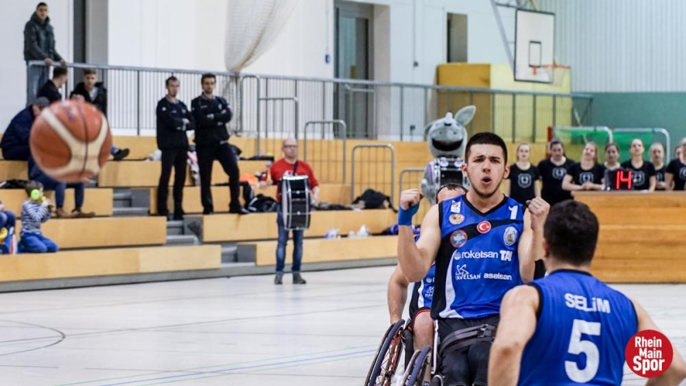 TSK Tekerlekli Sandalye Basketbol Takımı ezdi geçti galerisi resim 5