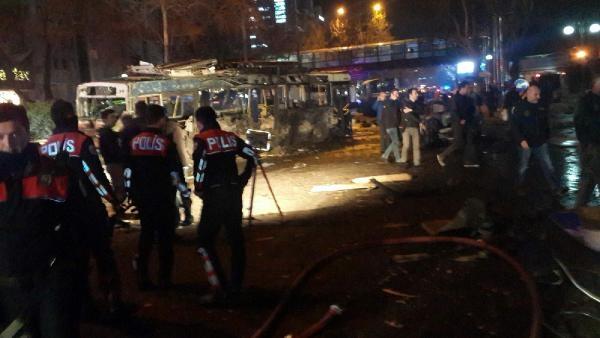 Ankara'daki kanlı saldırı galerisi resim 5