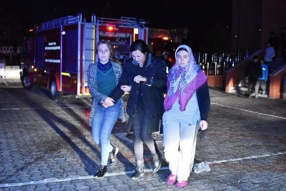 Yine kız yurdu, yine yangın galerisi resim 5