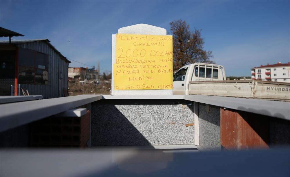 'Dolarını bozdur mezar taşını götür' galerisi resim 2