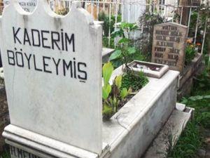 'Dolarını bozdur mezar taşını götür'